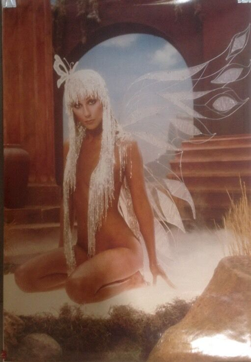 CHER POSTER 1979, HARRY LANGDON, very rare .... great condition..