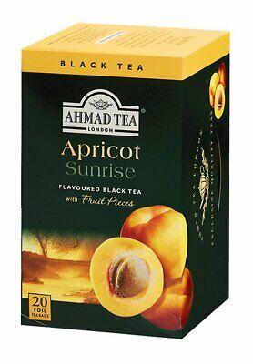 AHMAD TEA Apricot Sunrise Black Tea 20 Tea Bags for sale  Brooklyn