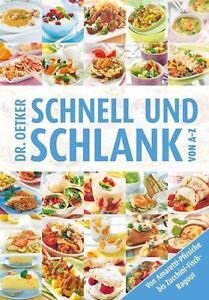 Schnell und Schlank von A-Z von Dr.Oetker (2013, Taschenbuch), UNGELESEN