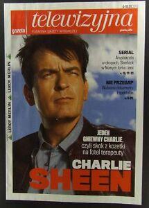 CHARLIE SHEEN mag.FRONT cover, Poland - <span itemprop=availableAtOrFrom>europe, Polska</span> - Zwroty są przyjmowane - europe, Polska