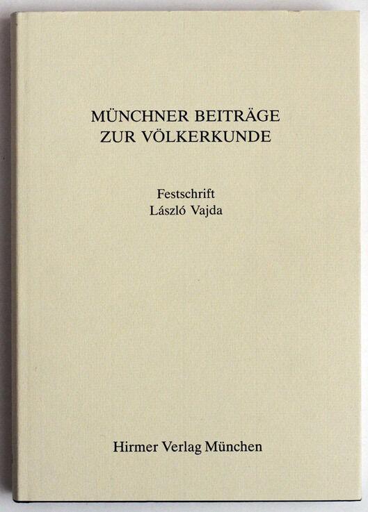 1998 Ethnographic Journal, Münchner Beiträge zur Völkerkunde