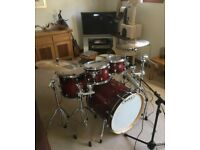 Mapex Meridian Maple 6pc Drum kit (w/hardware)