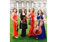 Musicians for your wedding or event - VIVA LA VIDA STRINGS.