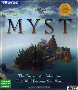 GAME BOX SHOT Myst (US, 1995)