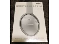 Bose quiet comfort 35 wireless top of the range headphones silver brand new sealed