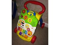 Baby push along walker. It does have the phone also