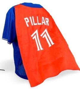Caped Kevin Pillar Blue Jays Jersey