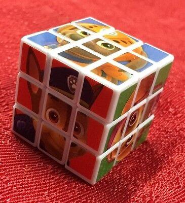 - Paw Patrol Magic Cube Puzzle Twist Game Brain Teaser Rotation - Mini Size