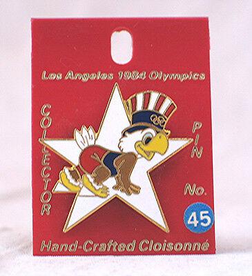 1984 Los Angeles Olympics Pin with Sam Eagle # 45