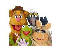 Muppetman! 2 x The Muppets at London 02 @ 2pm Saturday 14th July