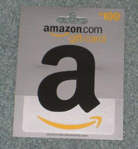 $100 Amazon.com Gift Card Amazon Certificate