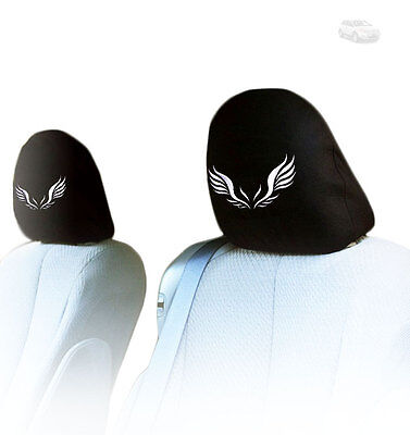 FOR FORD NEW PAIR INTERCHANGEABLE WINGS CAR SEAT HEADREST COVER GREAT GIFT IDEA  - Fiesta Ideas