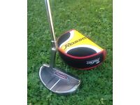 Taylor Made Rossa putter & headcover, as new, £45