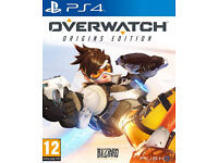 Overwatch ps4 - Like new