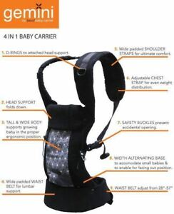 Very lightly used Beco Gemini baby carrier