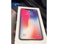 NEW 256GB iPhone X Unlocked Receipt+Warranty