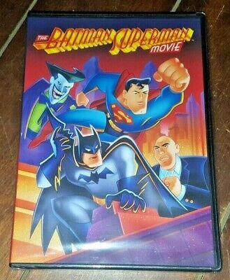 The Batman Superman Movie (DVD, 2002) Free Shipping!