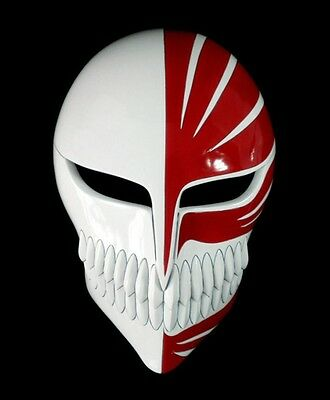 Bleach Kurosaki Ichigo Mask Maske Cosplay maschera halloween Kostüm masque Helm