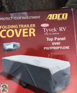 Tent trailer cover
