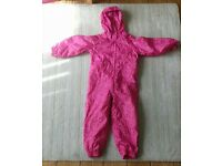 Puddle suit 2-3 years