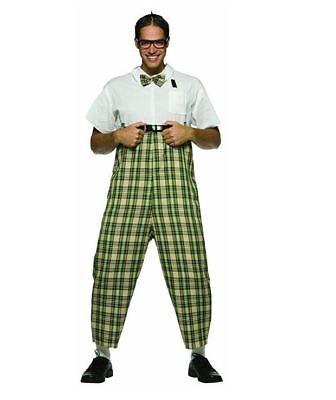 Nerd Halloween Costumes Men (Rasta Imposta Adult Mens Nerd Dork Geek Halloween Party Costume)