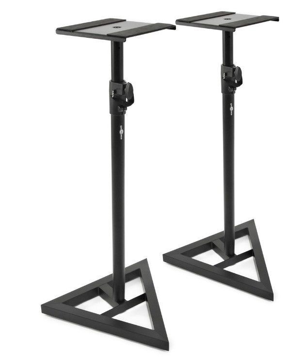 2x Fame DB039 Monitor Speaker Stands - Brand new unopened in box