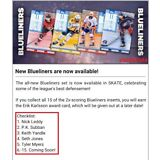 TOPPS NHL SKATE BLUELINERS 2018 (15 CARD SET) Leddy/Subban/Myers++++++++ DIGITAL