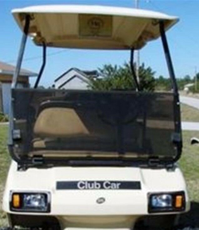 Club Car DS Tinted Fold Down Acrylic Windshield 2000.5 - Up Golf Cart Parts