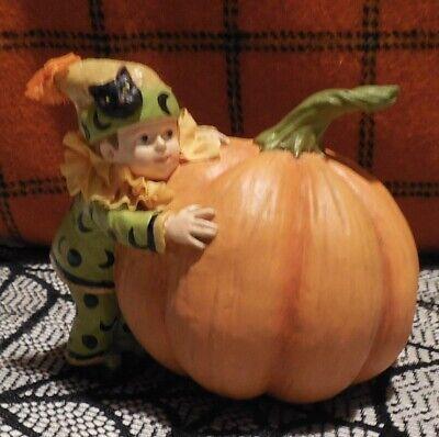 BETHANY LOWE HALLOWEEN PUMPKIN PATCH KID Large Pumpkin Adorable NEW