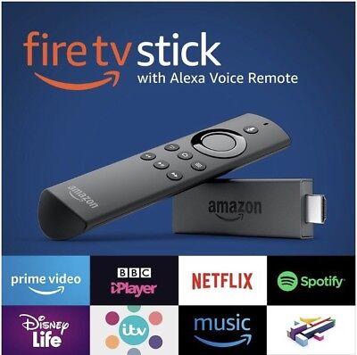 Fire TV Stick with Alexa Voice Remote Streaming Media Player 8GB HD U.K. 🇬🇧