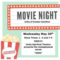 Free Movie Night!!  Wed. May 30th 1-3 or 7-9