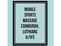 Sports, Deep tissue and Swedish Massage. Fife, Edinburgh.