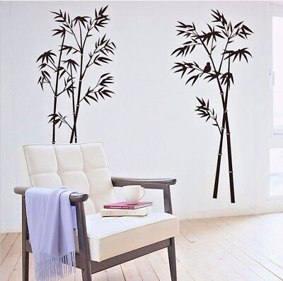 US STOCK Removable Wall Sticker Bamboo Decal Mural Living Room Bedroom Kitchen - Bamboo Wall Murals