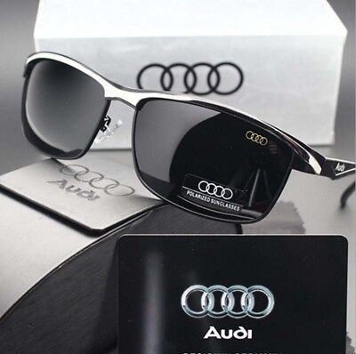 Audi Sunglasses Fashion Designer Outdoor Sports Driving Retro Classic Glasses UK