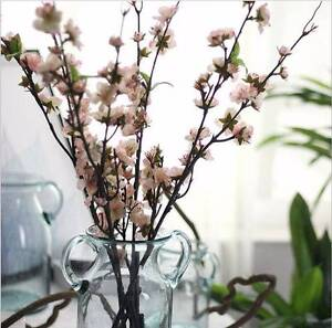 Pink Cherry blossom branches artificial flowers home decor Atwell Cockburn Area Preview
