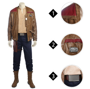 Star Wars 8 Finn Cosplay Costume