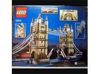 Tower Bridge Lego Set 10214