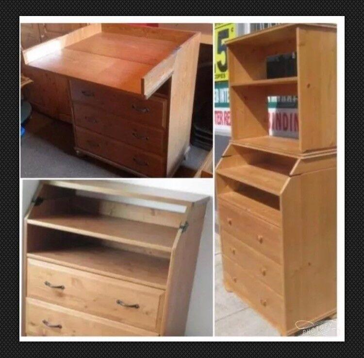 Admirable Ikea Diktad 3 In 1 Pine Nursery Changing Table Dresser Book Case In Teddington London Gumtree Home Interior And Landscaping Fragforummapetitesourisinfo