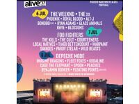 2 x NOS ALIVE TICKETS FOR SALE