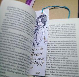 A Yuri!! On Ice bookmark with Viktor Anime