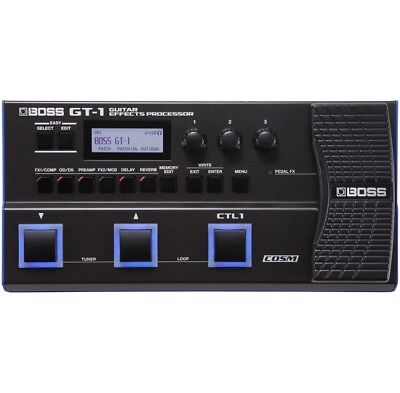 BOSS GT-1 Guitar Effects Processor NEW