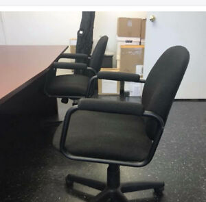 Chairs black. 10 in total. 100$