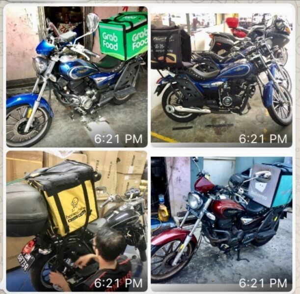 Food Delivery !Rental of Motorcycle Monthly @$350 whats app 90224811 GHC