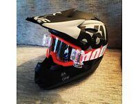 Downhill mountain bike Full face helmet