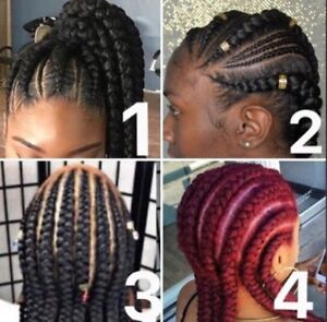 Mobile hair styling and braids