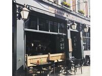 CDP, commis chef required for busy Gastro pub in the heart of Primrose Hill