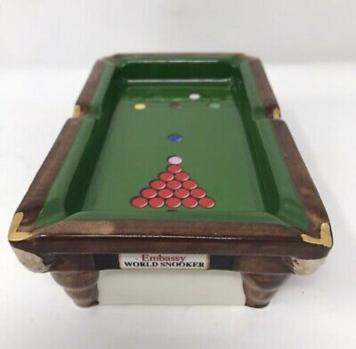 Embassy World Snooker Championship Table Ashtray Limited Edition