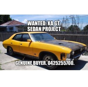 Wanted: Ford XA GT Sedan Project (Not XR XT XW XY XB XC) Campbellfield Hume Area Preview