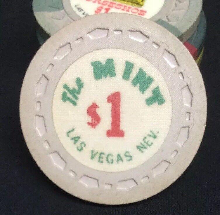 1965 The Mint $1 3rd Edition Casino Chip Las Vegas NV