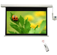 BRAND NEW Electric Projection Screen With Remote 16:9 & 4:3